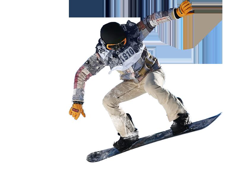 snowboard atlayışı